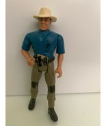 Dr. Alan Grant 1993 Kenner Jurassic Park Action Figure Series 1 JP World - $9.89