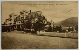 Old Linen Era Postcard Provincial House Novitate Boarding School Colebro... - $12.69