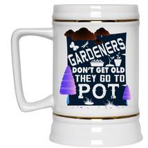 Lovely Gift For Gardeners Beer Stein 22oz, Gardeners Beer Mug - $26.99
