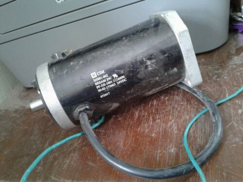 Electric Motor Bs801-002 beat up from storage see pics.