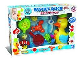 SMALL WORLD TOYS PRESCHOOL Wacky Duck Bath Playset - Childrens Bathtub Toy