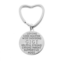 Infinity Collection Gigi Keychain, Gigi Gift, Grandma Jewelry Makes Grea... - $9.99