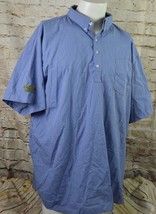 Waffle House Work Shirt Quarter Button Short Sleeve Uniform Shirt Size 2XL - $14.84