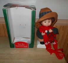 "Animated Santa's Best Vintage Undercover Kids Christmas Decoration 14"" - $18.36"