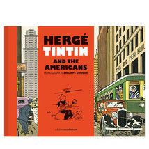 Herge, Tintin and the americans book