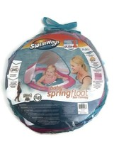 SwimWays Baby Spring Float Sun Canopy PINK Swimming Pool Toy Child Toddl... - $19.79