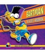 Bartman: The Hero's Handbook by Matt Groening Hardcover Book - Bart Simp... - $21.99