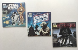 Star Wars, The Empire Strikes Back & Return of the Jedi 24 Page Books - $38.95