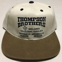 Thompson Brothers Welding Hat Coffeyville Kansas Bartlesville Oklahoma C... - $14.30