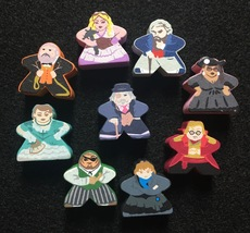 Custom Kill Doctor Lucky Meeple Set (9 figures) - $13.00