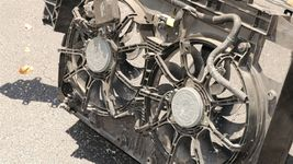 2011-2019 Infiniti M35H M37 M56 Q70 Q70L Radiator Core Support & Fans image 5
