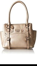 GUESS Rikki Metallic Small Status Satchel - $145.26