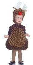 Toddler Reindeer Christmas Rudolph Plush Vest- Headpiece Halloween Costume-4T/6T - $25.74