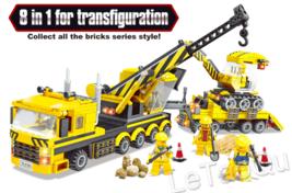 Construction Bulldozer Forklift Truck Building Block City Construction ... - $24.99