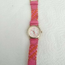 Time4Kidz Watch - Valdawn Vintage Water ressistant  Pink Leather Strap - $8.90