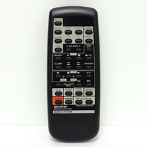 Sharp RRMCG0143AWSA Factory Original Audio System Remote For CD-C452, CD-C452C - $16.99
