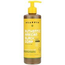 Alaffia, Authentic African Black Soap, Eucalyptus Tea Tree, 16 fl oz (47... - $11.99