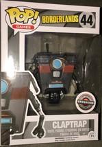 Claptrap Borderlands Pop! Games Funko NIB new in box 44 Gamestop Exclusive - $29.69