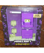 "Minecraft SPINNING SHULKER 5"" Action Figure (2015) Free Shipping - $19.66"