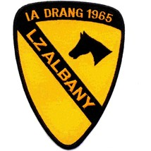 US Army 1st Cavalry Division Patch Ia Drang 1965 Lz Albany Vietnam - $10.68
