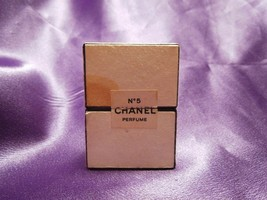 Vintage No. 5 Chanel Perfume 1/4 fl oz Bottle w/ Box Size 9 - $29.70