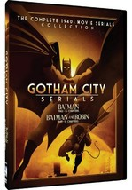 Gotham City Serials - Batman/Batman And Robin: The Complete 1940s Movie ... - $17.95
