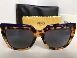 New FENDI FF 0087/S CUIHD 53mm Blue Tortoise Women's Sunglasses - $299.99