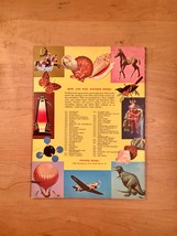 Vintage Childrens book: 1963 How and Why Wonder Book of Magnets and Magnetism image 7