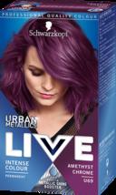 Schwarzkopf METALLIC SHINE BOOSTER Permanent Hair Dye AMETHYST CHROME PU... - $15.73