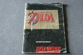 Super Nintendo SNES: The Legend of Zelda Link To Past [Instruction Manual ONLY] - $8.00