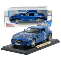 Maisto Special Edition 1:18 Die Cast Metallic Blue Coupe MERCEDES SLR Mc... - $49.99