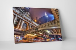 "New York Grand Central  Skyline Gallery Wrapped Canvas Print 30""x20"" or ... - $44.50+"
