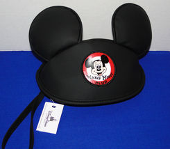 Disney Parks Mickey Mouse Club Hat with Ears Wristlet image 6