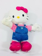 Hello Kitty Dance Time Animated Dancing Window Kling Plush Doll Sanrio 2014 - $13.99