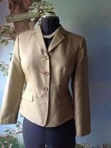 Talbots Women's Long Sleeve Gray Wool  Suit Jacket Blazer Size 8 - $38.61