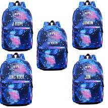 KPOP Bangtan Boys Schoolbag Backpack Student Book bag Starry Sky Satchel... - $21.19 CAD