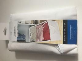 Mainstays Canvas Under Bed Storage Bag, White - $10.00
