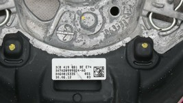 09 - 17 Volkswagen CC Eos Golf 3-Spoke Multifunction Steering Wheel Blck Leather image 2