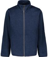 Nautica NUFDD04F Performance Nautex Boy Navy Zip Fleece Jacket Med 10/12... - $29.69