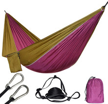 1 Person Nylon Hammock Tent Rede Chair For Backpacking Travel Swing Hama... - $27.03