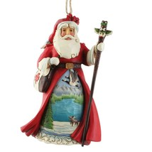 Jim Shore Canadian Santa Hanging Ornament Around the World Collection 6009467