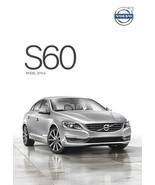 2015.5 Volvo S60 sales brochure catalog folder US T5 T6 AWD R-Design - $7.00