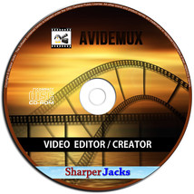 NEW & Fast Ship! Avidemux Video / Audio Editor & Publishing Studio Windo... - $11.67