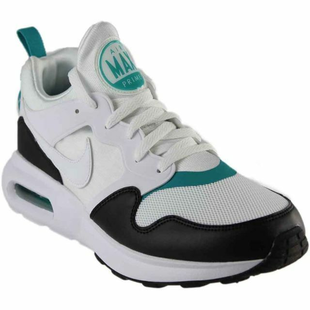 Primary image for Nike Air Max Prime Mens 876068-103 White Black Turbo Green Running Shoes
