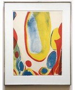 Alice Baber 1979 Color Lithograph Signed Ltd Ed. Lithograph Framed MOMA  - $1,732.50