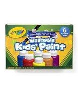 Washable Kids Paint 6 Jar Set By Crayola Llc - $19.59