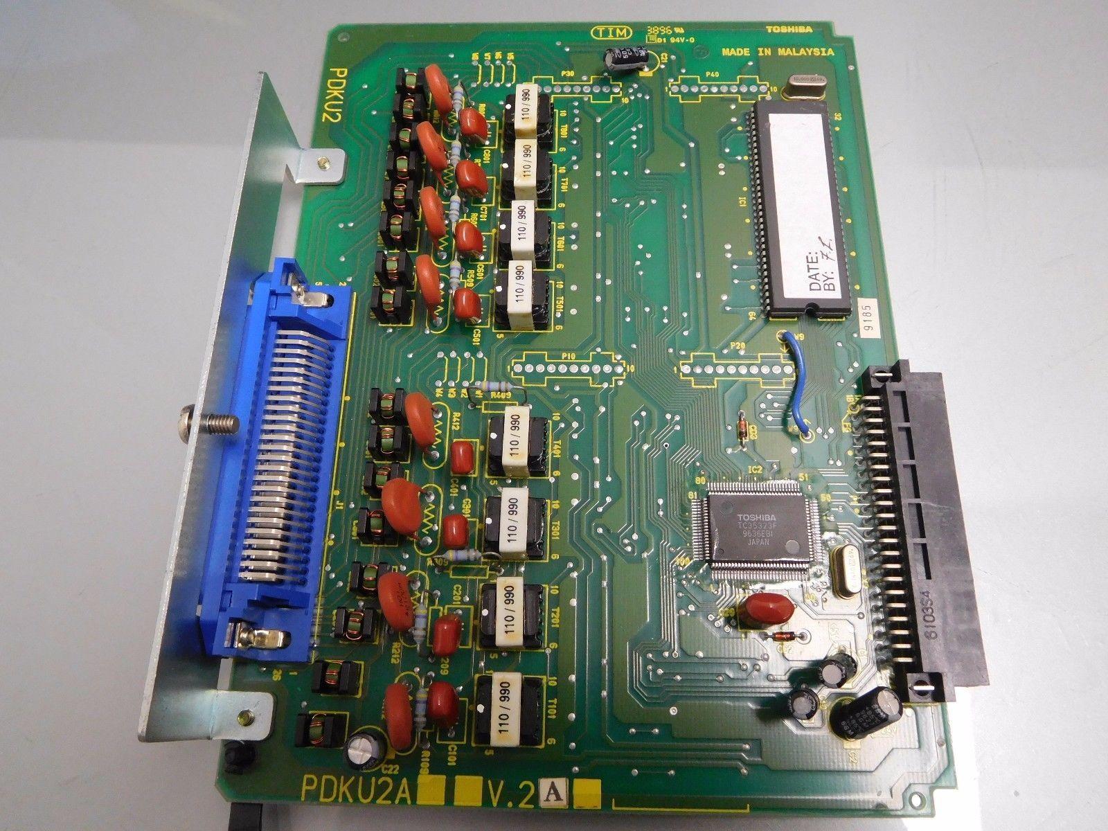 Toshiba Strata 8-Circuit Digital Station Card PDKU2A PDKU2 V.2A