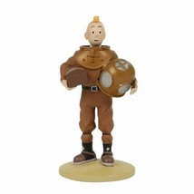 Tintin diver in scaphandre suit polyresin figurine Official Tintin product