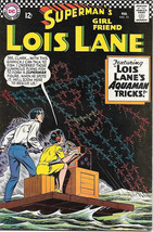 Superman's Girlfriend Lois Lane Comic Book #72, DC Comics 1967 FINE+ - $23.14