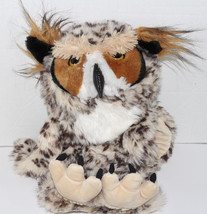 Cute TOYS BY DAPHNE BROWN SPOTTED OWL Plush HAND STAGE PUPPET Pretend Pl... - $29.69